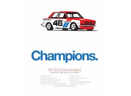 Datsun 510 Poster 450x330 - Datsun 510 Print