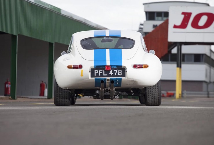 Jaguar E-Type Car 10