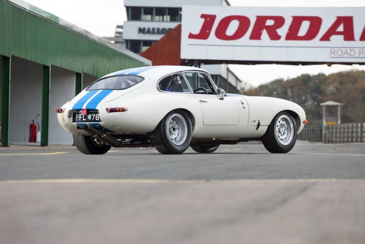 Jaguar E-Type Car 11