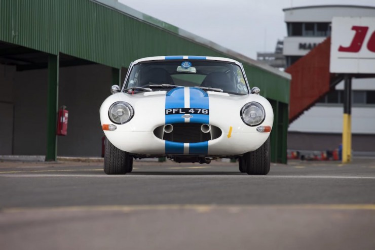 Jaguar E-Type Car 12