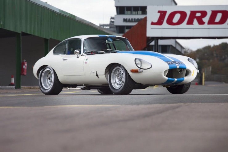Jaguar E-Type Car 6