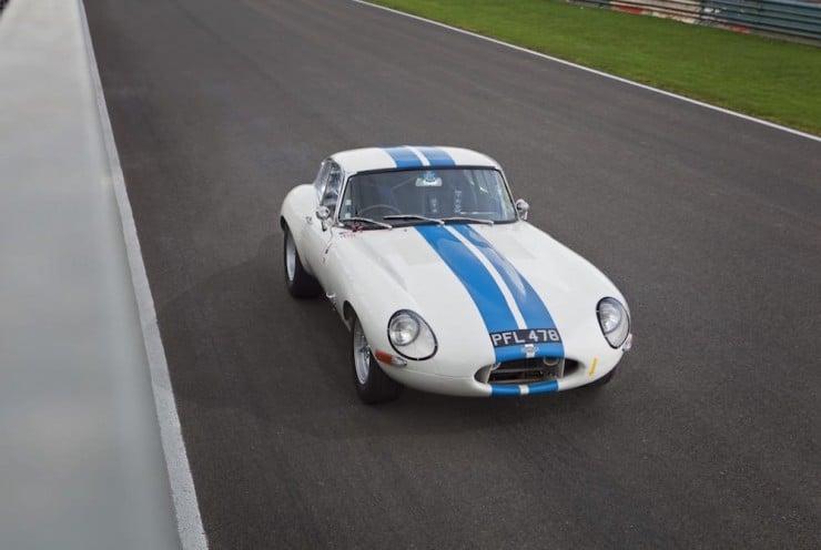 Jaguar E-Type Car 9