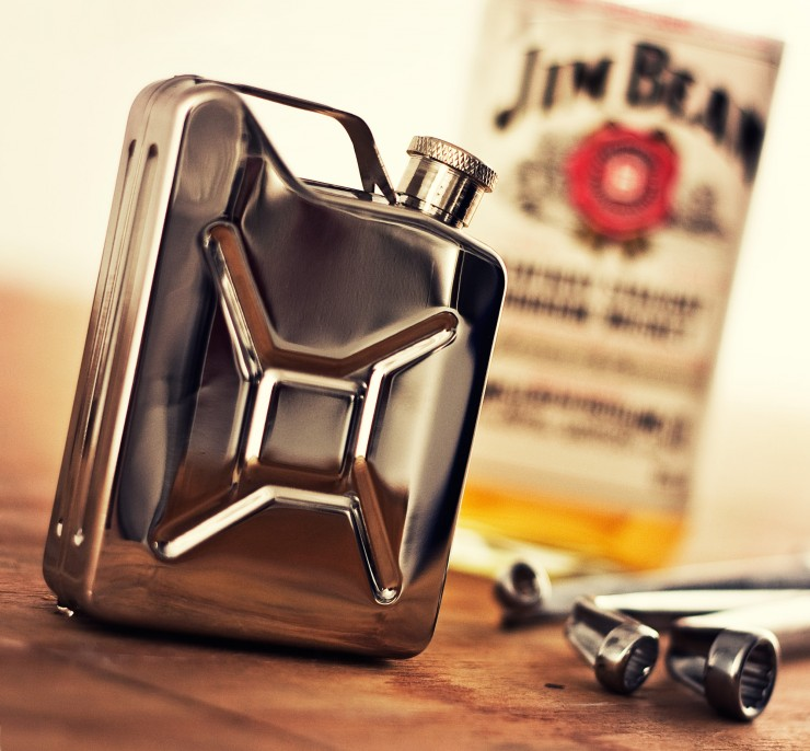 Jerry Can Whiskey Flask