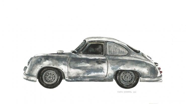 Porsche 356 Art