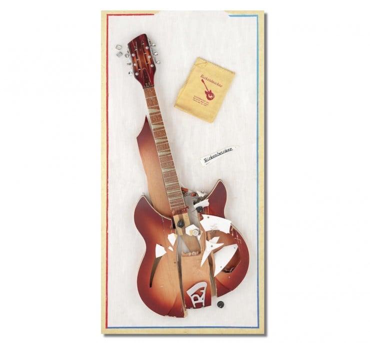 Rickenbacker guitar the who