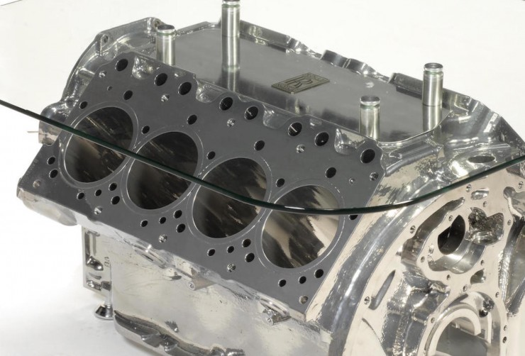 Rolls-Royce 6.75L V8 Coffee Table 1
