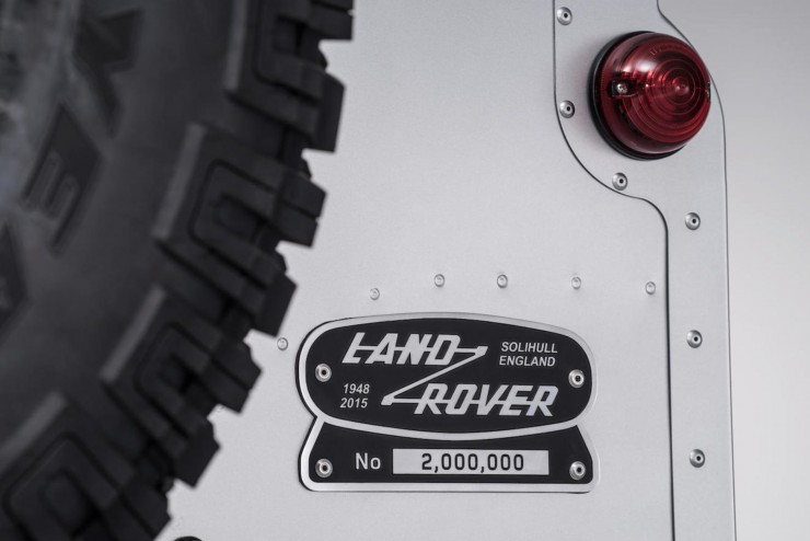 The 2,000,000th Land Rover 3
