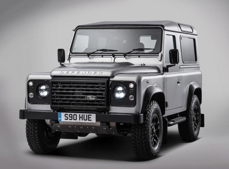 The 2,000,000th Land Rover