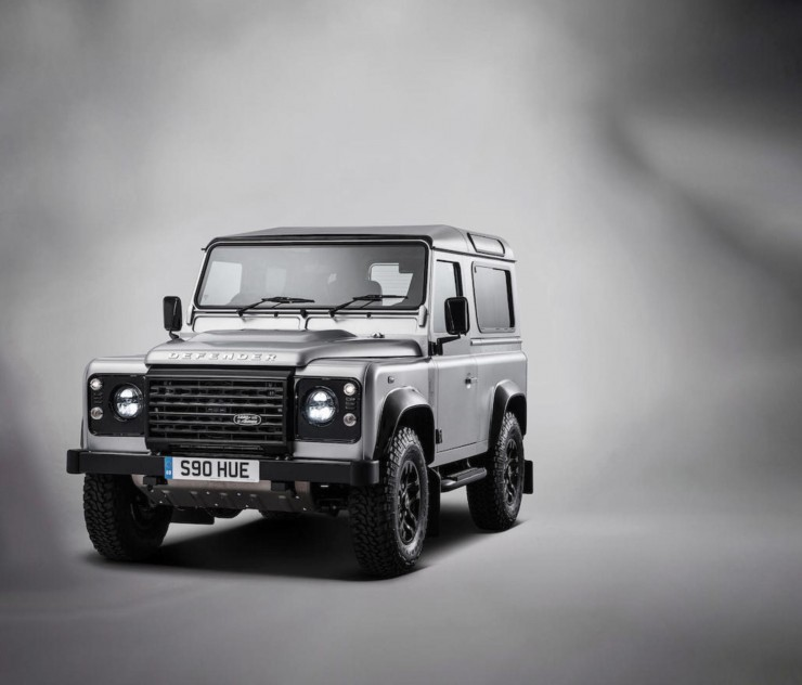 The 2,000,000th Land Rover 9