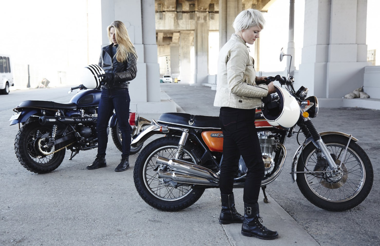 Tobacco Motorcycle Jeans 3