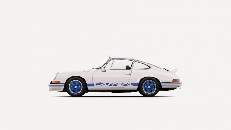 911 Carrera RS_illustration