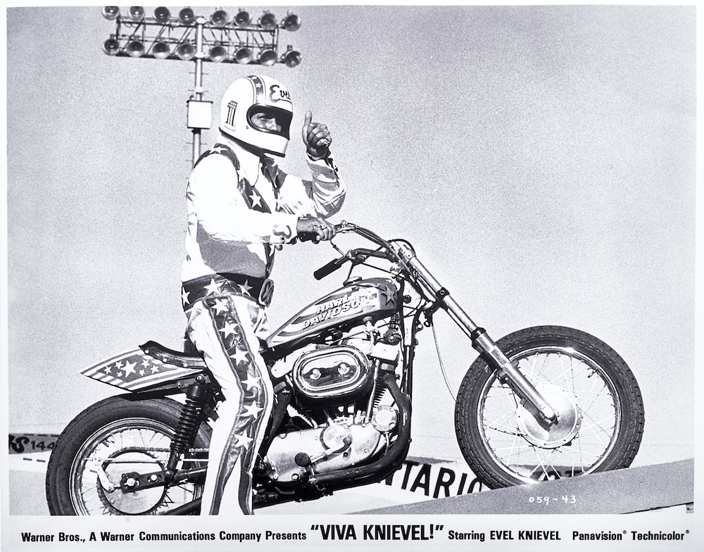 Evel Knievel S Harley Davidson Xl1000 Up For Auction: Evel Knievel Harley-Davidson XL1000