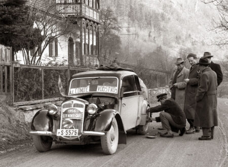 Monte Carlo Rally 450x330 - The 1956 Monte Carlo Rally