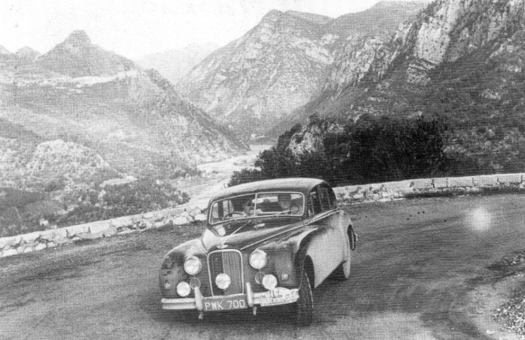 Monte Carlo Rally Jaguar