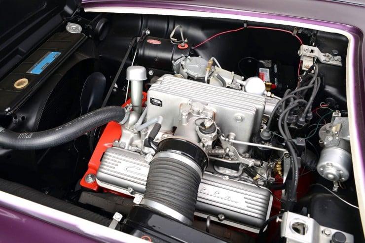 Purple People Eater Chevrolet Corvette 4