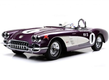 Purple People Eater Chevrolet Corvette