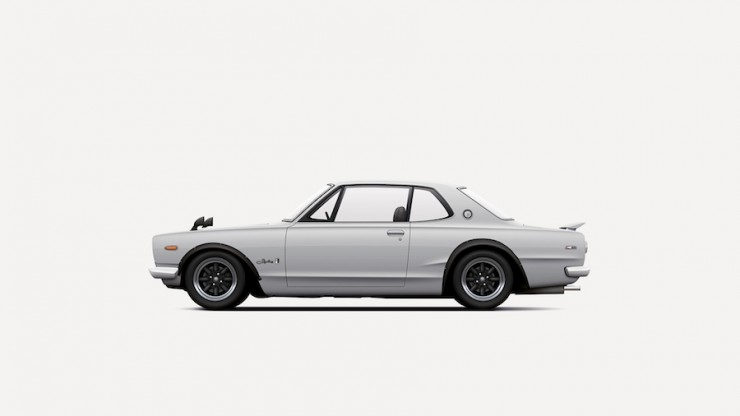 Skyline GT-R KPGC10_illustration