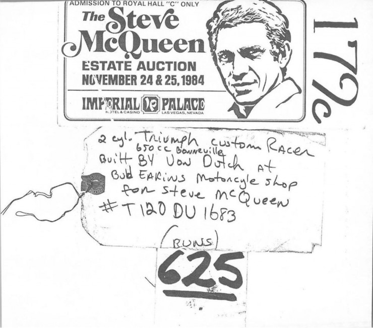Steve McQueen License
