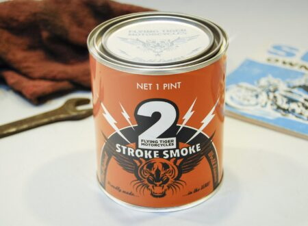 Two Stroke Candle 450x330 - Two Stroke Smoke Candle by Flying Tiger Motorcycles