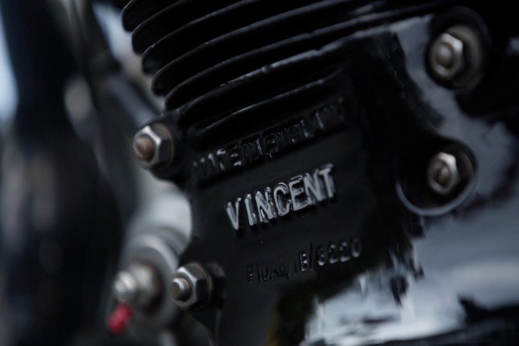 Vincent Black Shadow 16
