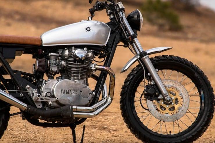 Yamaha XS650 Gravel Tracker 11
