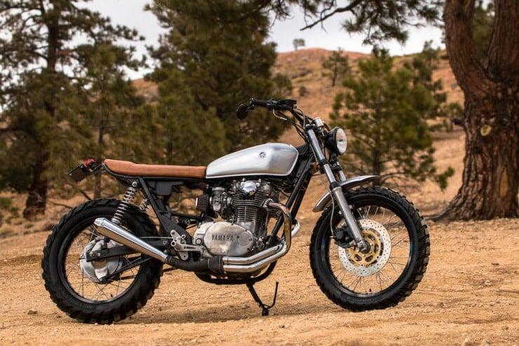 Yamaha XS650 Gravel Tracker 12