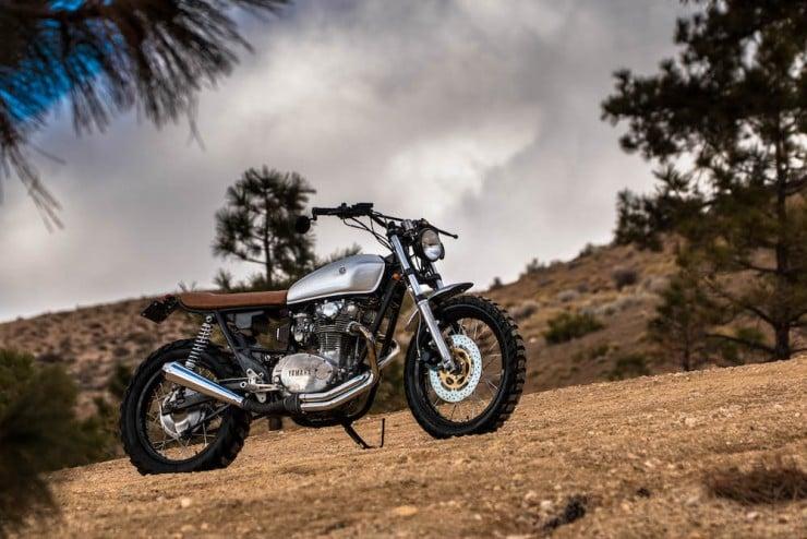 Yamaha XS650 Gravel Tracker 15