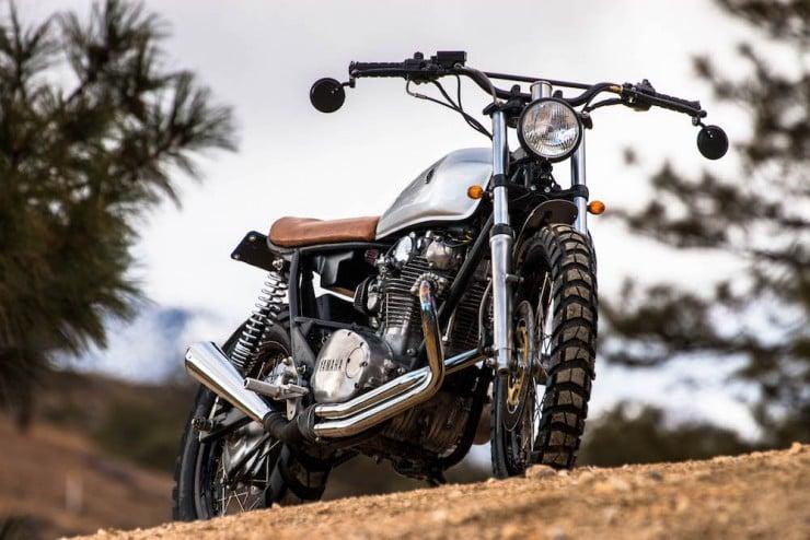 Yamaha XS650 Gravel Tracker 16