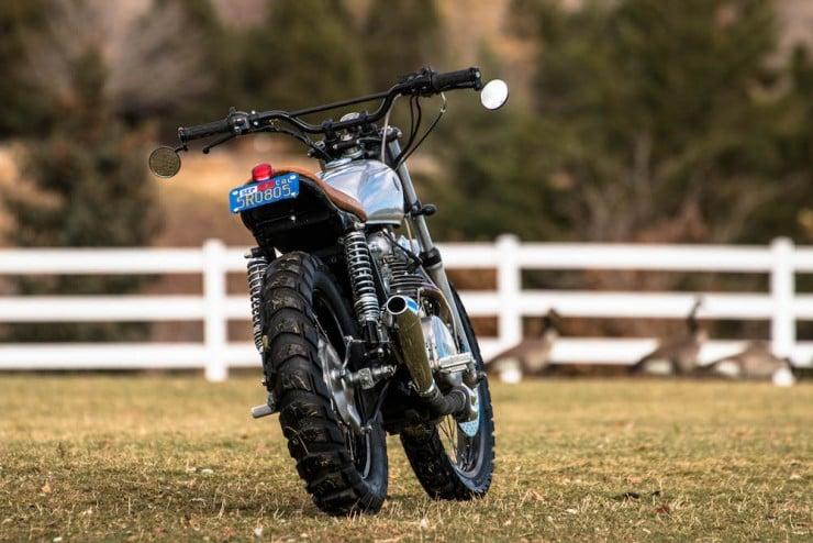 Yamaha XS650 Gravel Tracker 17