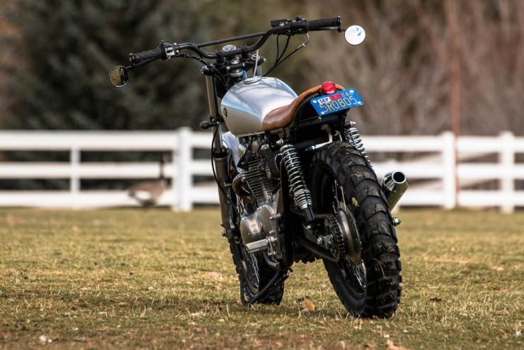 Yamaha XS650 Gravel Tracker 18