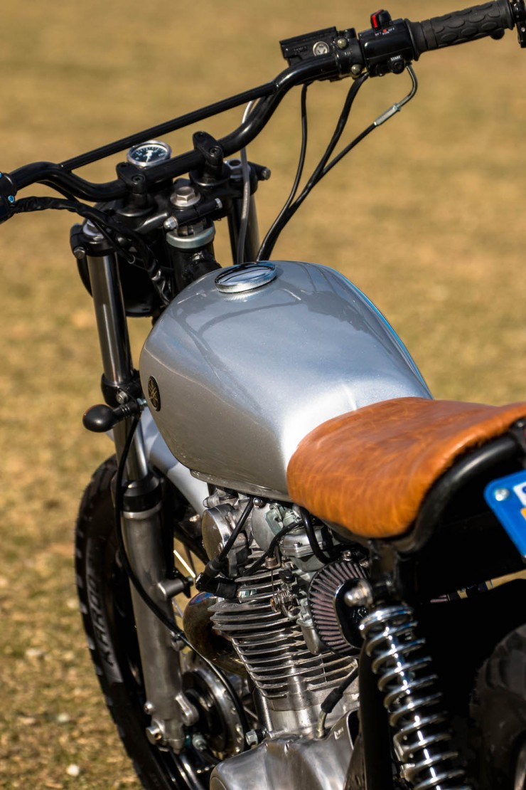 Yamaha XS650 Gravel Tracker 4