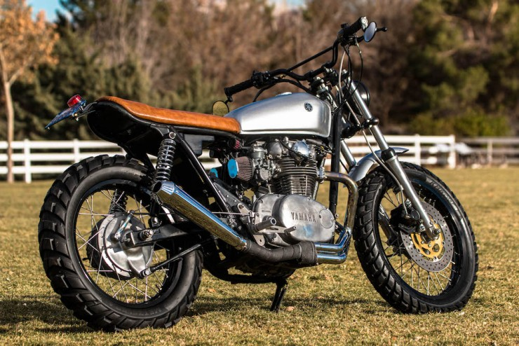 Yamaha XS650 Gravel Tracker 6