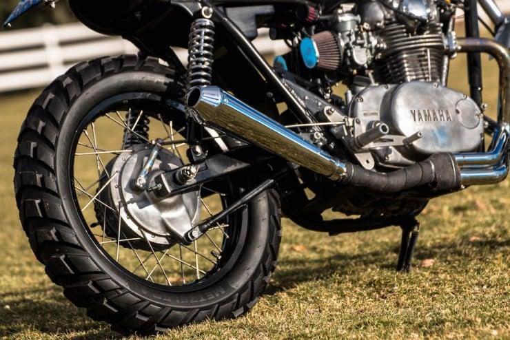 Yamaha XS650 Gravel Tracker 7