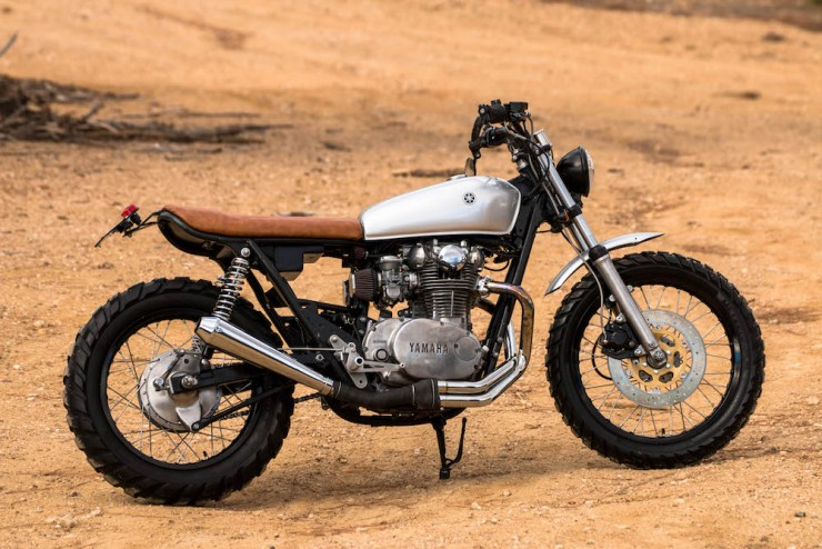 Yamaha XS650 Gravel Tracker