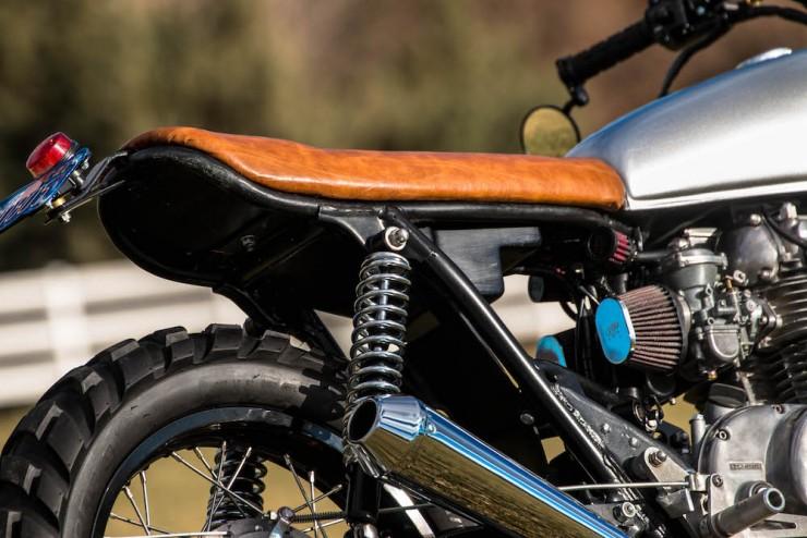 Yamaha XS650 Gravel Tracker 8