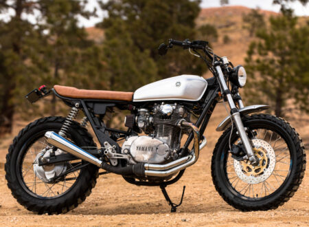 Yamaha XS650 Gravel Tracker 9