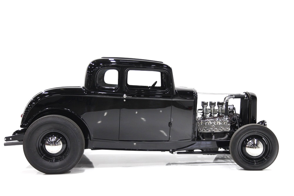 1932 Ford 5-Window Hot Rod