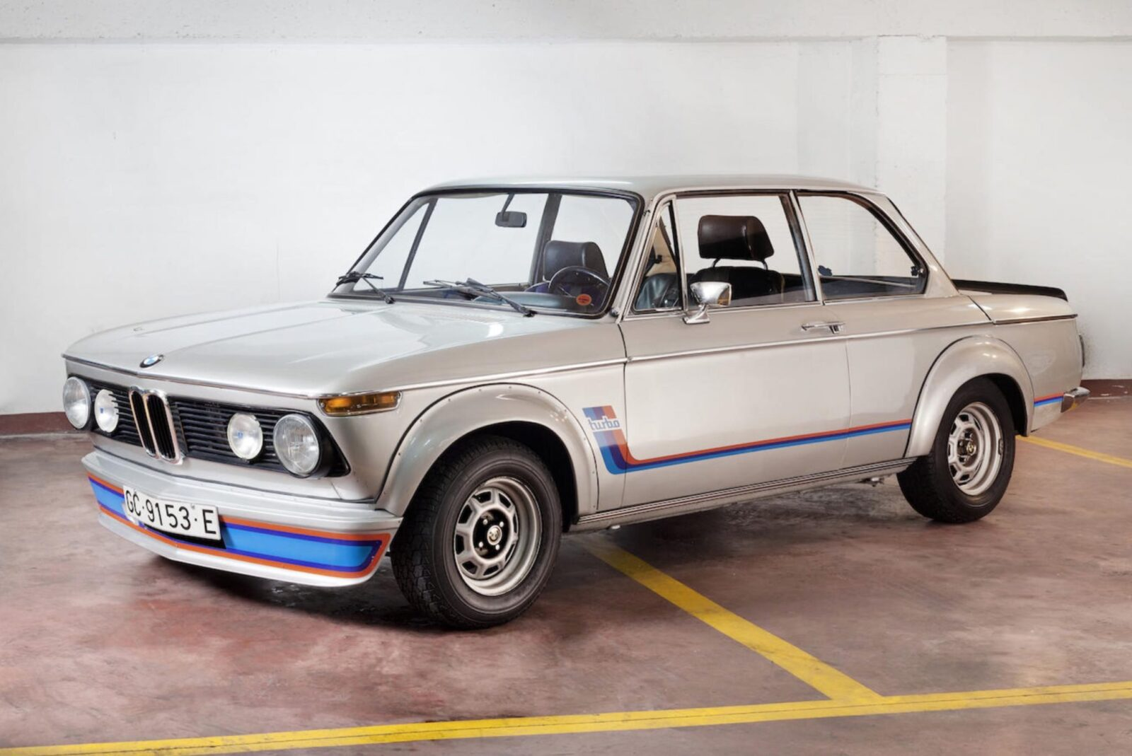 An Original 1974 Bmw 2002 Turbo