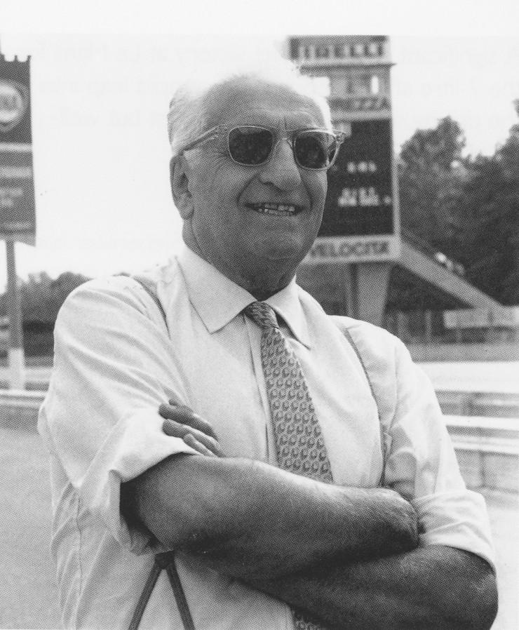 Enzo Ferrari Photograph