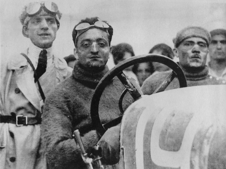Enzo Ferrari Young