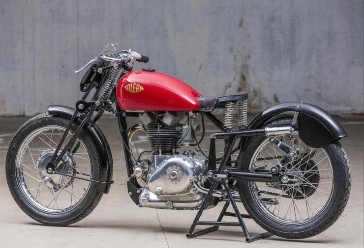 Gilera Saturno Motorcycle 4