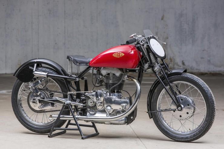 Gilera Saturno Motorcycle 5