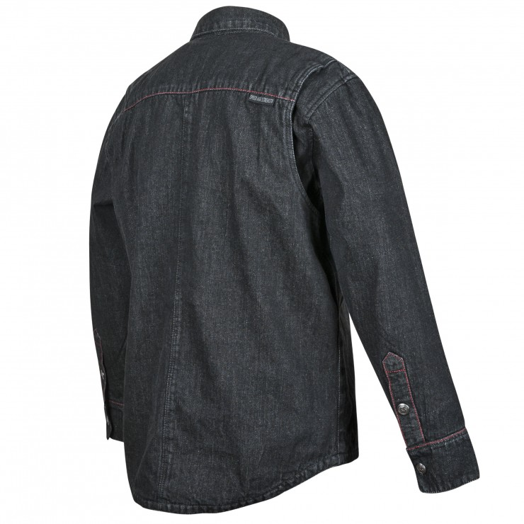 Gridlock Denim Moto Shirt by Speed and Strength 2
