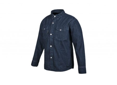 Gridlock Denim Moto Shirt by Speed and Strength