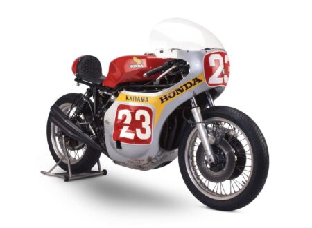 Honda CB500R 650cc Racing Motorcycle 450x330 - Honda Research & Development CB500R Racer