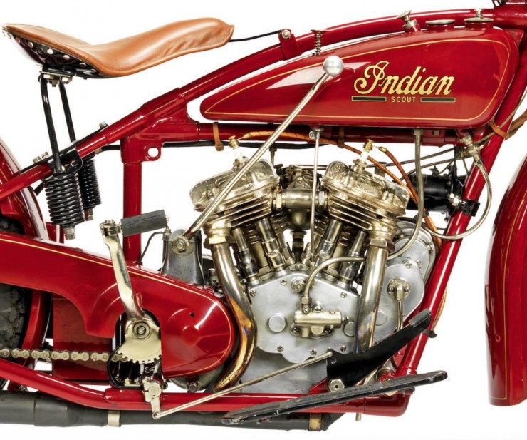 Indian 101 Scout Motorcycle