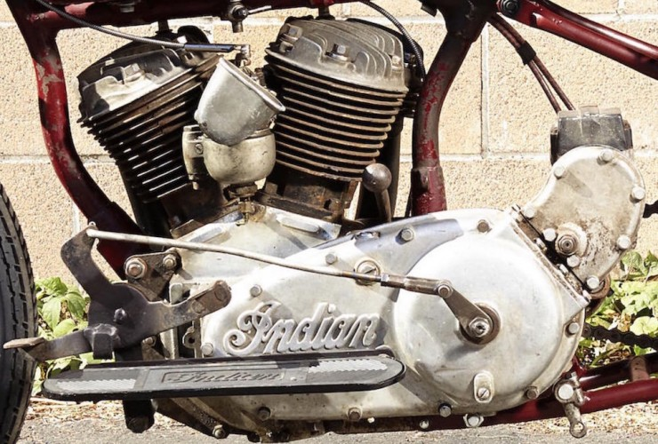 Indian Scout Factory Hill Climber 12