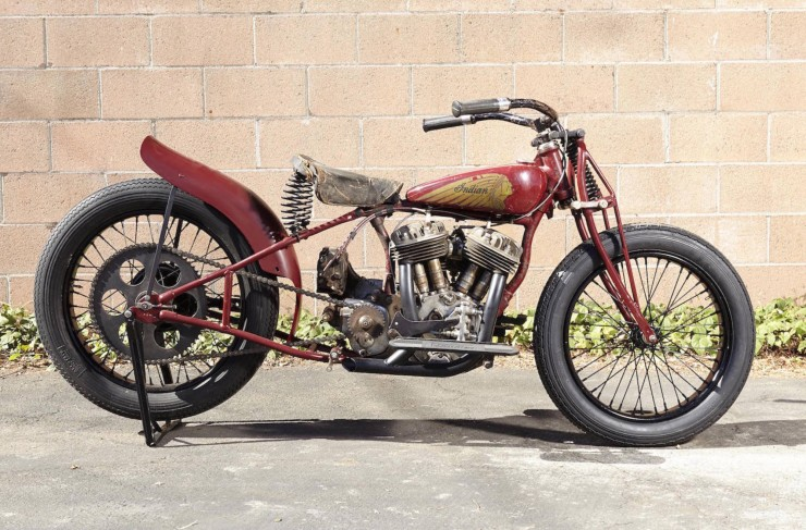 Indian Scout Factory Hill Climber