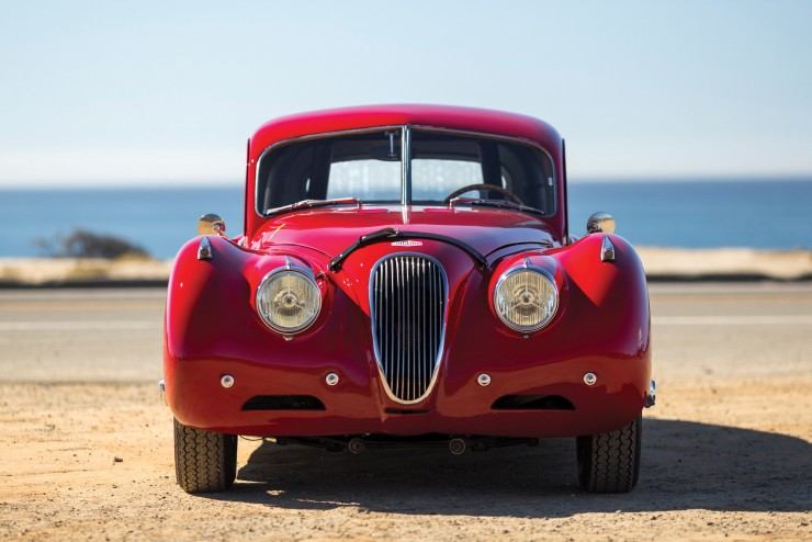 Jaguar XK 120 Fixed Head Coupe 8