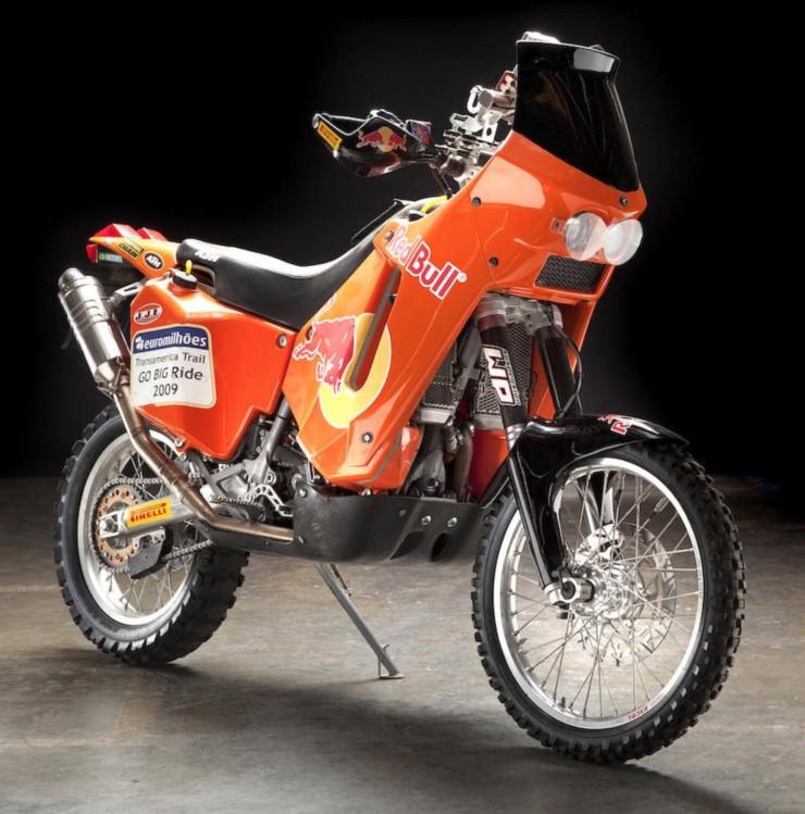 KTM 660 Rallye 3